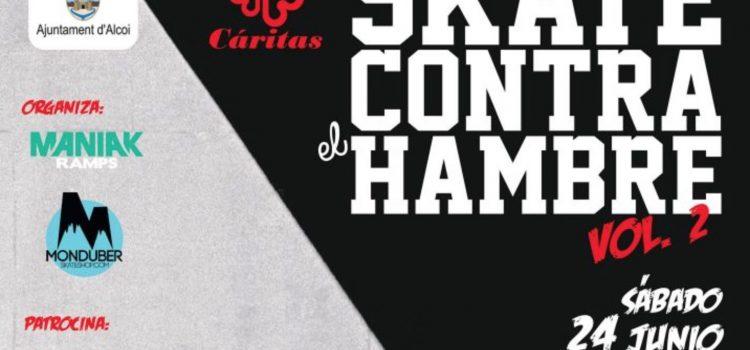 SKATE CONTRA EL HAMBRE – 24 de junio en Alcoy (Alicante)