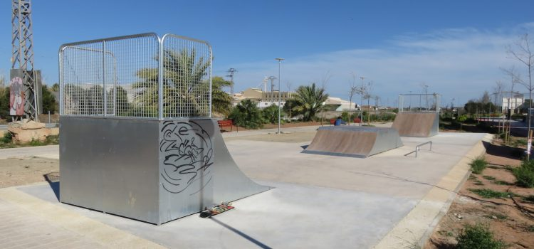 Skatepark de Tavernes Blanques (Valencia). AMPLIADO y REMODELADO.