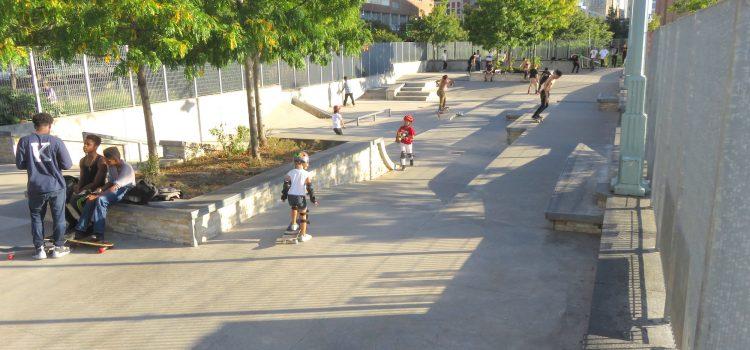 New York Tribeca Skatepark (Pier 25): Ejemplo de un buen skateplaza