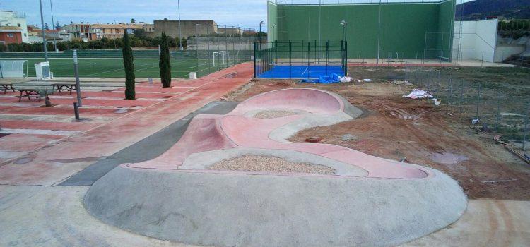PUMP TRACK DE LLAURÍ (VALENCIA). Nuevo mierda park.