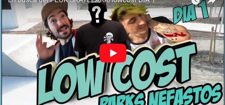 En busca del peor skatepark: Viaje Low cost by Sergio Lucea, Óscar y Ákaro