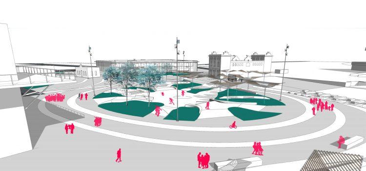 La Marina de Valencia – Primeras imágenes del futuro skatepark del Puerto.
