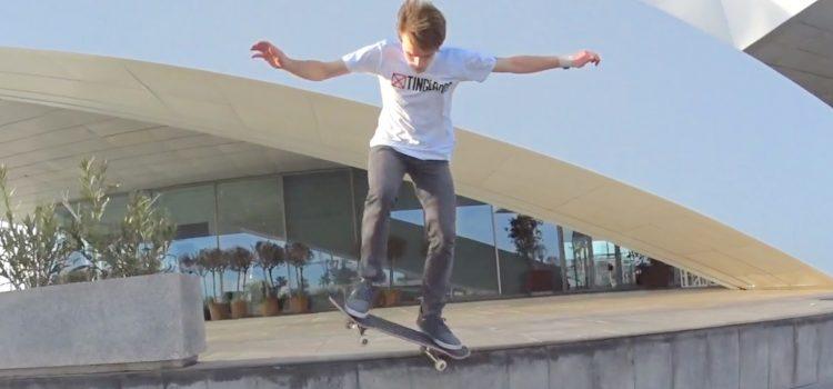 Alex Woodward – Tinglados Skateboarding Valencia
