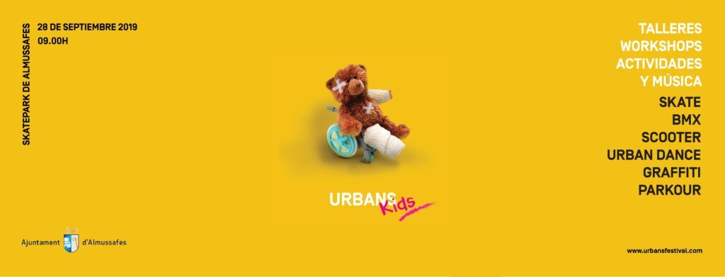 Urbans Kids Festival Almussafes