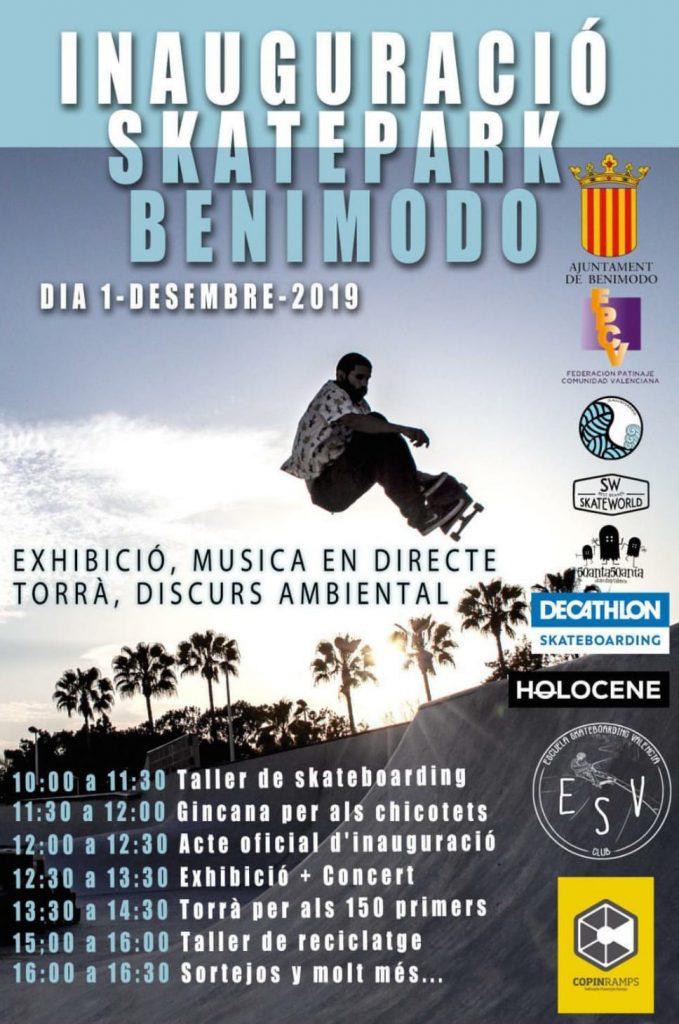 Inauguración Skatepark Benimodo